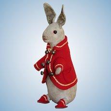 Well Loved Steiff Peter Rabbit, circa 1907