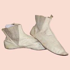 19th Century Ladies Elasticated Boots, circa 1860's