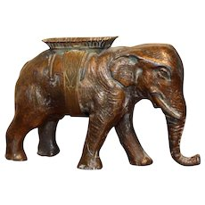 Rare W. Avery & Son Elephant Pin Holder