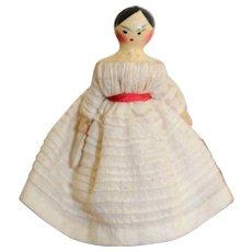 Fabulous Grodnertal Doll, Circa 1830/1840