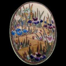 19th Century Large Satsuma Pin