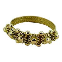 Victorian Wedding Band Ring - Provenance Northern Italy 1880