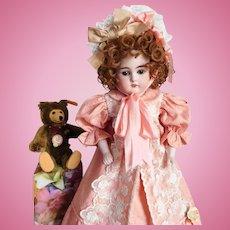 """Kestner 6 Mold #148 Antique 16"""" GERMANY Doll Bisque Shoulder Head"""