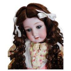 """Heubach Koppelsdorf Doll 250.3 GERMANY 22"""" Sleep Eyes, Faint Hairline on Head Very Good Body"""