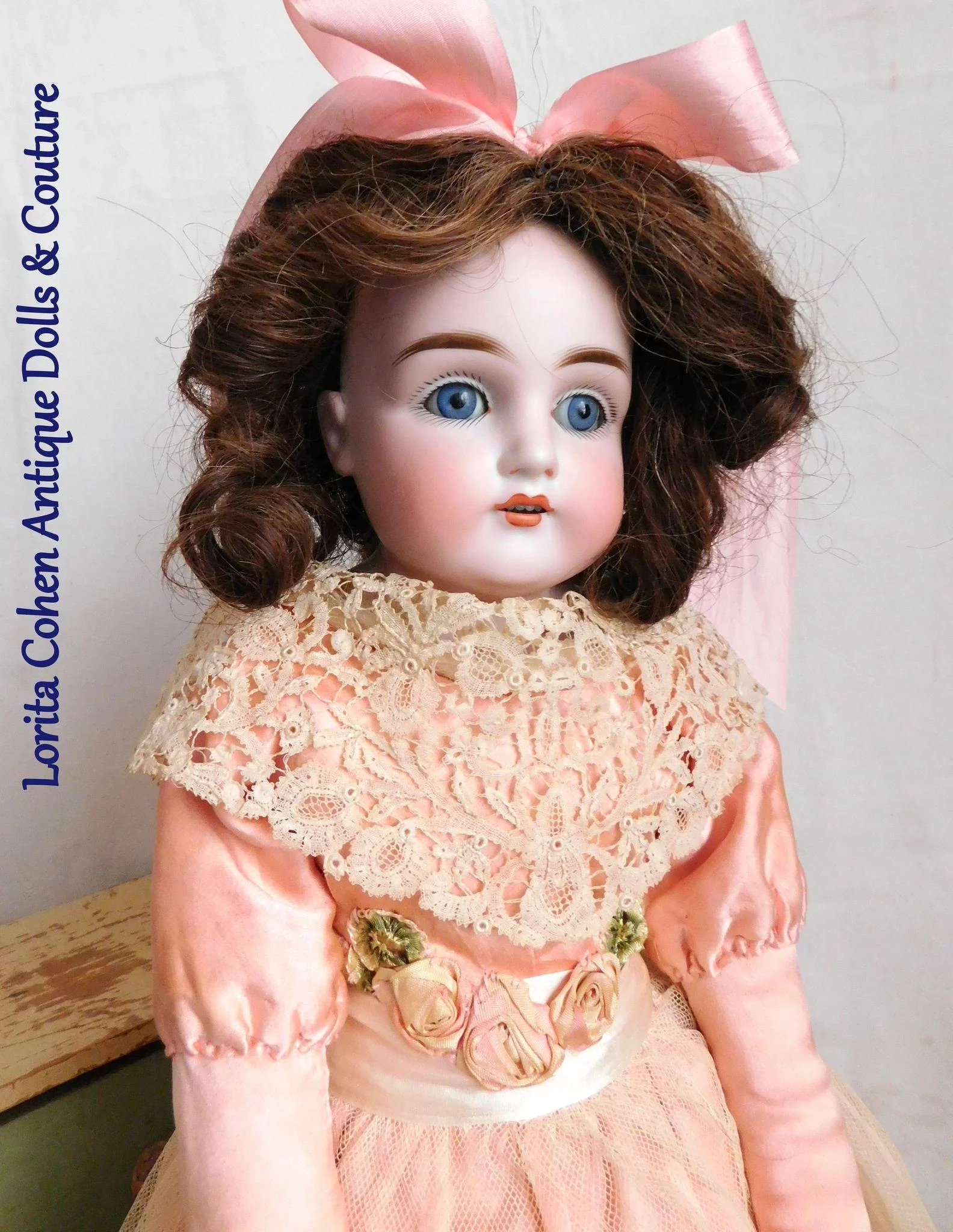 Kestner 22 Quot 154 Dep 7 1 2 Bisque Doll Turned Shoulder Head