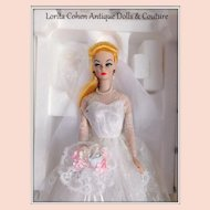 Vintage Porcelain Barbie 1989 Wedding Party 2641-9993 NEVER REMOVED FROM BOX Mattel Shipping Box Included.