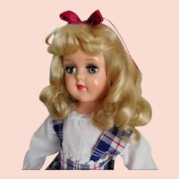 "Ideal 21"" Toni P-93 Doll Hard Plastic Beautiful Hair EXCELLENT~"