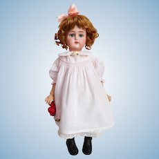 "16 1/2"" Simon Halbig K * R 43 Doll Sweet Darling! Nice Presentation"