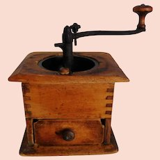 Wood Coffee Grinder