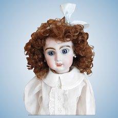 Vintage Doll Wig Auburn Size 10 - 11