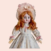 "M. Handwerck 421 German Ball Jointed 24"" Antique Doll."