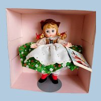 "VINTAGE Madame Alexander Doll 8"" International Series AUSTRIA Original BOX & Stand, Unplayed With Condition!~"