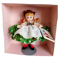 "VINTAGE Madame Alexander Doll 8"" International Series AUSTRIA Original BOX & Stand, Unplayed With Condition!~"