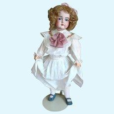 "Kester 167 Germany Doll Blonde Blue Glass Eyes 24"" Tall"