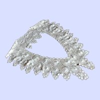 Antique Needle Lace Tenerife Dating to 1920's  ~Museum Quality~ EXCELLENT CONDITION~  Spanish Canary Island of Tenerife