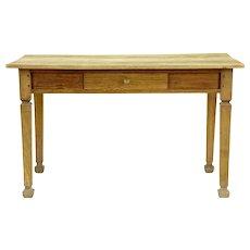 19th century pine Victorian kitchen table