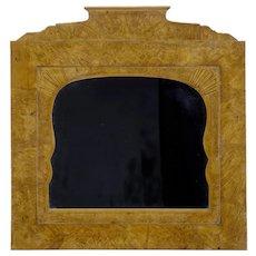 19th Century Russian root birch overmantle mirror
