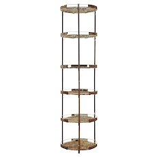 Early 20th Century metal seed bulb rack for gardening