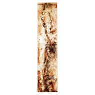 Large french 1950's acrylic abstract installation panel