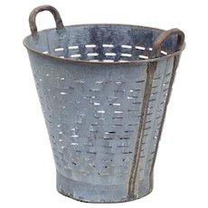 Early 20th Century metal basket