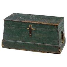 19th century rustic Swedish pine box