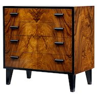 1950's Scandinavian art deco style design small chest of drawers