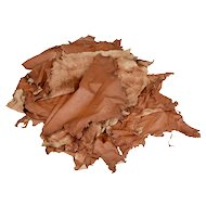 Collection of 10 tan Cow leather hides for upholstery