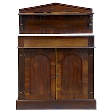 William IV rosewood chiffonier sideboard