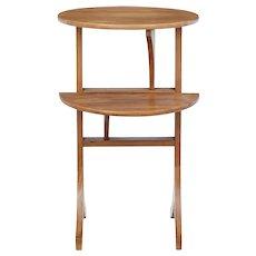 Early 20th century metamorphic mahogany table