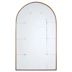 Mid 20th Century deco inspired dome top mirror
