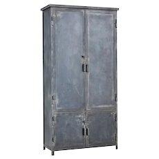 Mid 20th Century industrial steel cabinet