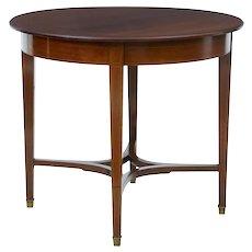 Early 20th Century 1920's mahogany center table