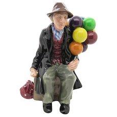 Royal Doulton Balloon Man Full Size Figurine HN1954 Free Shipping