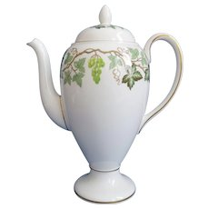 Wedgwood Santa Clara Full Size 10 inch Coffee Pot