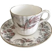 Royal Worcester Lakme Pattern Cup and Saucer