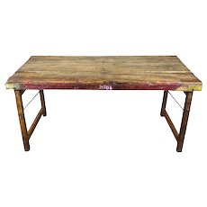 Vintage Hardwood Indian Wedding Table