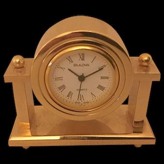 Miniature Clock, Bulova