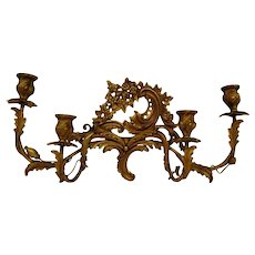 Antique Wall Light, Italy, 1890