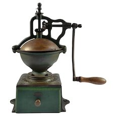 Late 19th Century Peugeot Freres Brevetes S.G.D.G. Coffee Grinder