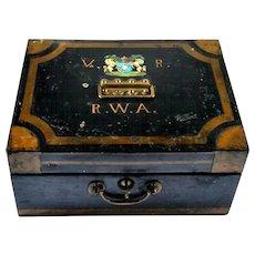 Antique Safe Box, England 1900s
