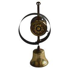 19th C. Victorian Brass Shop Bell