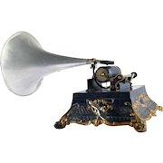 Antique Phonograph Le Menestrel, France, 1902
