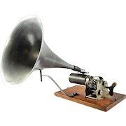 Antique Phonograph AU SOU BB, France, 1885