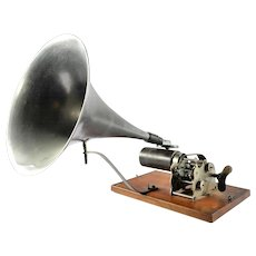 Antique Phonograph AU SOU BB, France, 1885