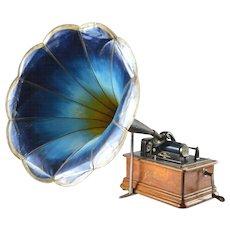 Antique Phonograph Edison, USA, 1908