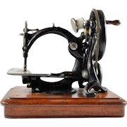 Antique Sewing Machine, Willcox & Gibb 1860s