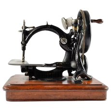 Antique Sewing Machine, Willcox & Gibb 1860s