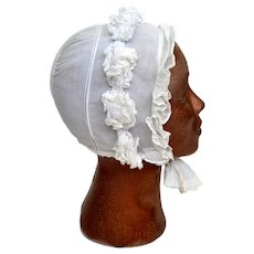 Original Victorian Belgian Bonnet