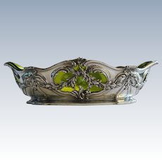 Christofle Jardiniere with Glass