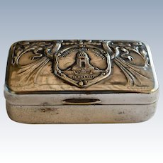 Silver Plate German Trinket Box
